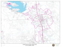 Conroe PD District Map